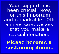 Please become a sustaining donor