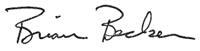 Brian Becker signature