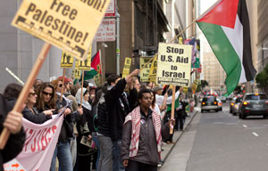 Palestine Land Day 2012, San Francisco