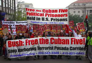 Demonstration for the Cuban Five, Washington, DC, Sept. 23, 2006
