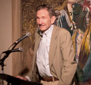 Ramsey Clark, anniversary of Iraq war, San Francisco, March