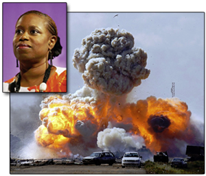 Cynthia McKinney tour of Libya