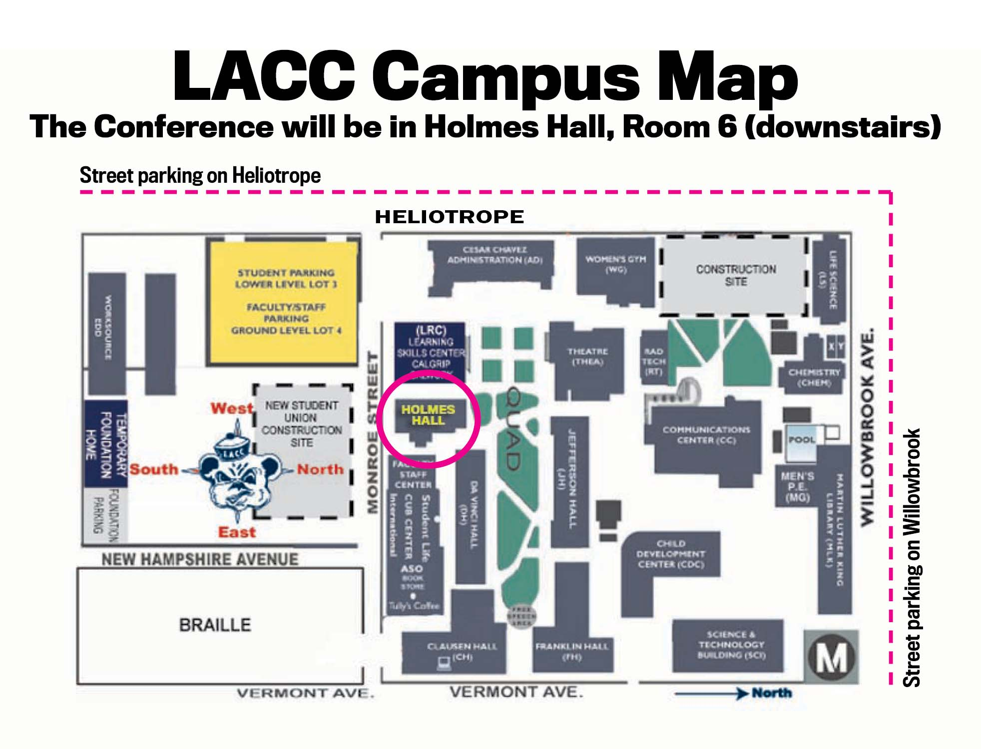 LACC with Holmes Hall