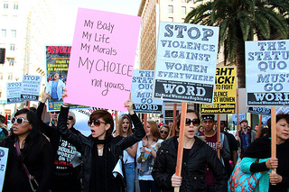 International Women's Day 2013, LA