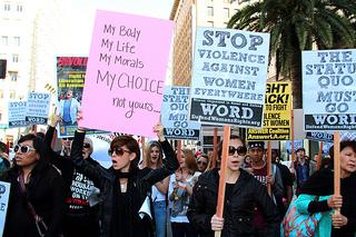 International Women's Day 2013, LA