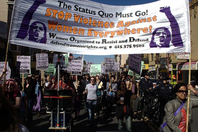 International Women's Day 2013, SF