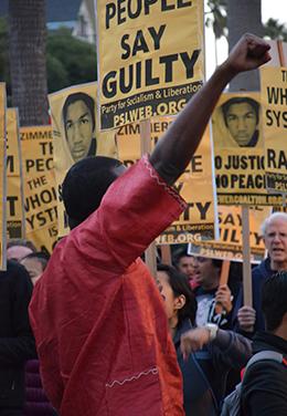 Trayvon Martin demo, SF
