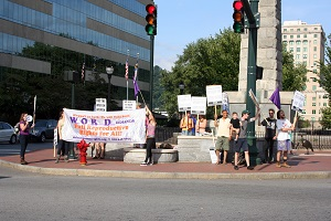 Asheville Women's Equality Day rally