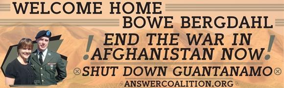 Bowe Bergdahl banner