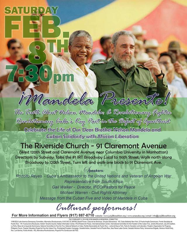 Mandela and Cuban solidarity