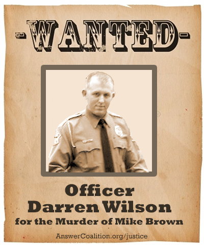 Charge Darren Wilson with murder