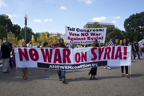 Sept 7 march at the Capitol - no war on Syria