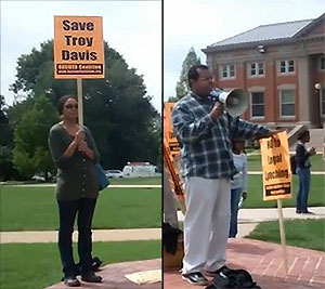 Troy Davis Protest, Howard University, Washington, DC, 09-16