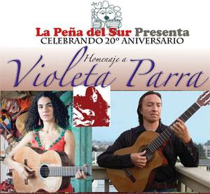 La Pena Anniversary - Homage to Violeta Parra