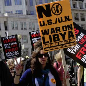 March 19, 2011 anti-war demonstration in Washington, D.C.