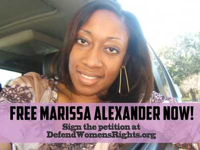 Marissa Alexander petition image
