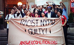 New York protest against police brutality