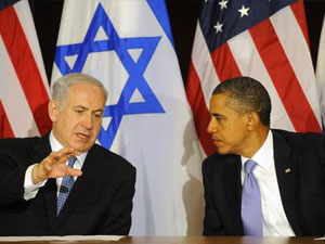 Israeli Prime Minister Netanyahu and President Obama