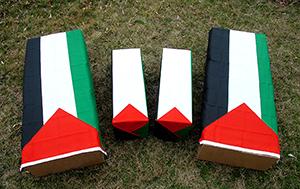 Palestine coffins