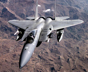U.S. plane enforces no-fly zone over Iraq