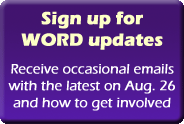 Sign up for WORD email updates